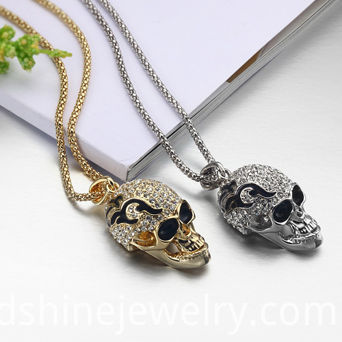 Skull Necklace Jewelry Accessories
