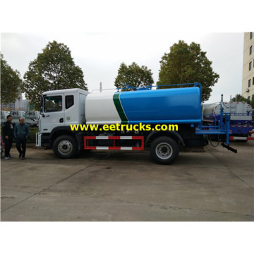 6m3 DFAC Road Watering Tanker Trucks