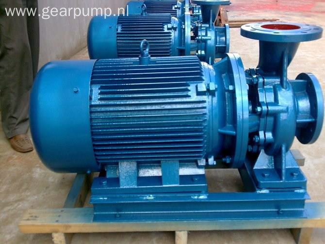 ISW series horizontal electric centrifugal water pumps