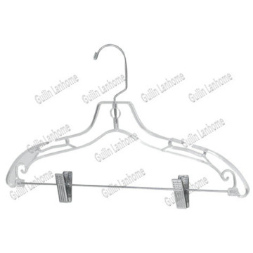 Clear Combination Hanger w/ Clips