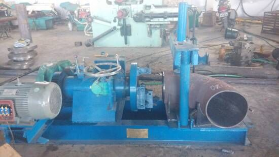 single end manual beveling machine