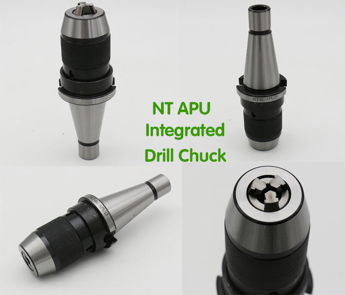 High Quality NT40 Intergrated Drill Chucks