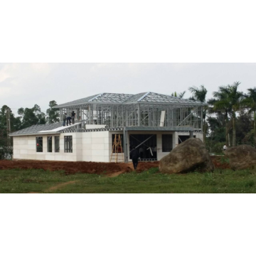 Metal Frame Affordable Prefabricated House