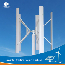 China Gold Supplier for Wind Generator Turbine DELIGHT DE-AW04 Vertical Wind Turbine Generator supply to Sweden Exporter