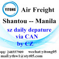 Shantou Air Freight Logistcs Company to Manila