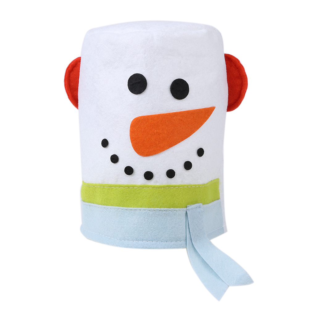 Santa Tank Tissue Box Cover