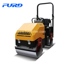 China for China Ride-On Road Roller,1 Ton Road Roller,Asphalt Roller Supplier 2 Ton Double Drum Roller Soil Compacor supply to Palestine Factories