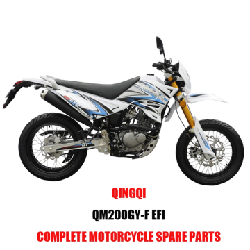 QINGQI QM200GY-F EFI Engine Parts Motorcycle Body Kits Spare Parts Original