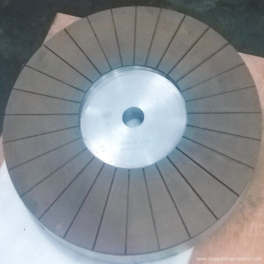 Double disk Diamond surface grinding wheel