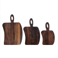 Irregularity walnut wood cutting board