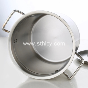 Good Quality Thickened Straight Stainless Steel Soup Pails