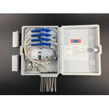OEM Factory for Waterproof Fiber Distribution Box 16 cores outdoor fiber optic distribution box export to Gabon Supplier