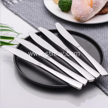 Simple European stainless steel knife tableware
