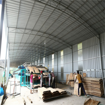 High Output Biomass Veneer Drying Machine