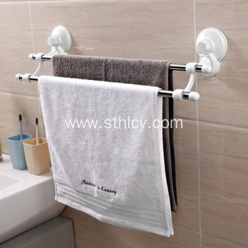 Stainless Steel  Vacuum Suction Cup Towel Rack