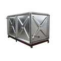 Fire Fighting HDG Steel Water Tanks