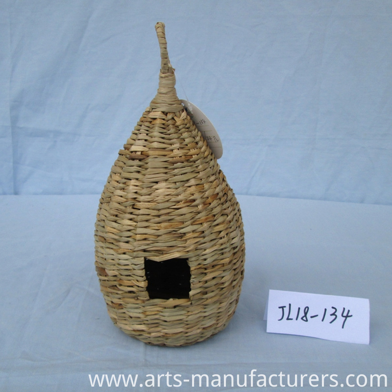 Sea grass bird house