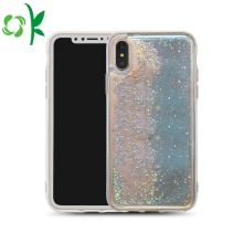 Factory making for PC Iphone Case Glitter Liquid Bling Quicksand Bluelight Plastic Phone Case supply to Russian Federation Manufacturers