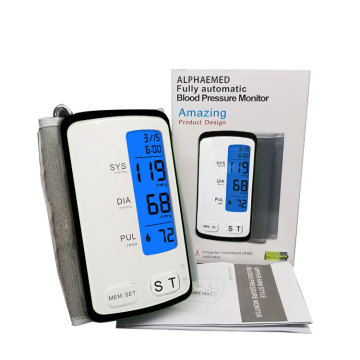 Automatic Blood Pressure Monitor Connected to Computer