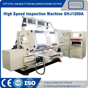 High Quality for Label Inspection Machine High Speed Material Quality Inspecting Rewinding Machine export to United States Manufacturer