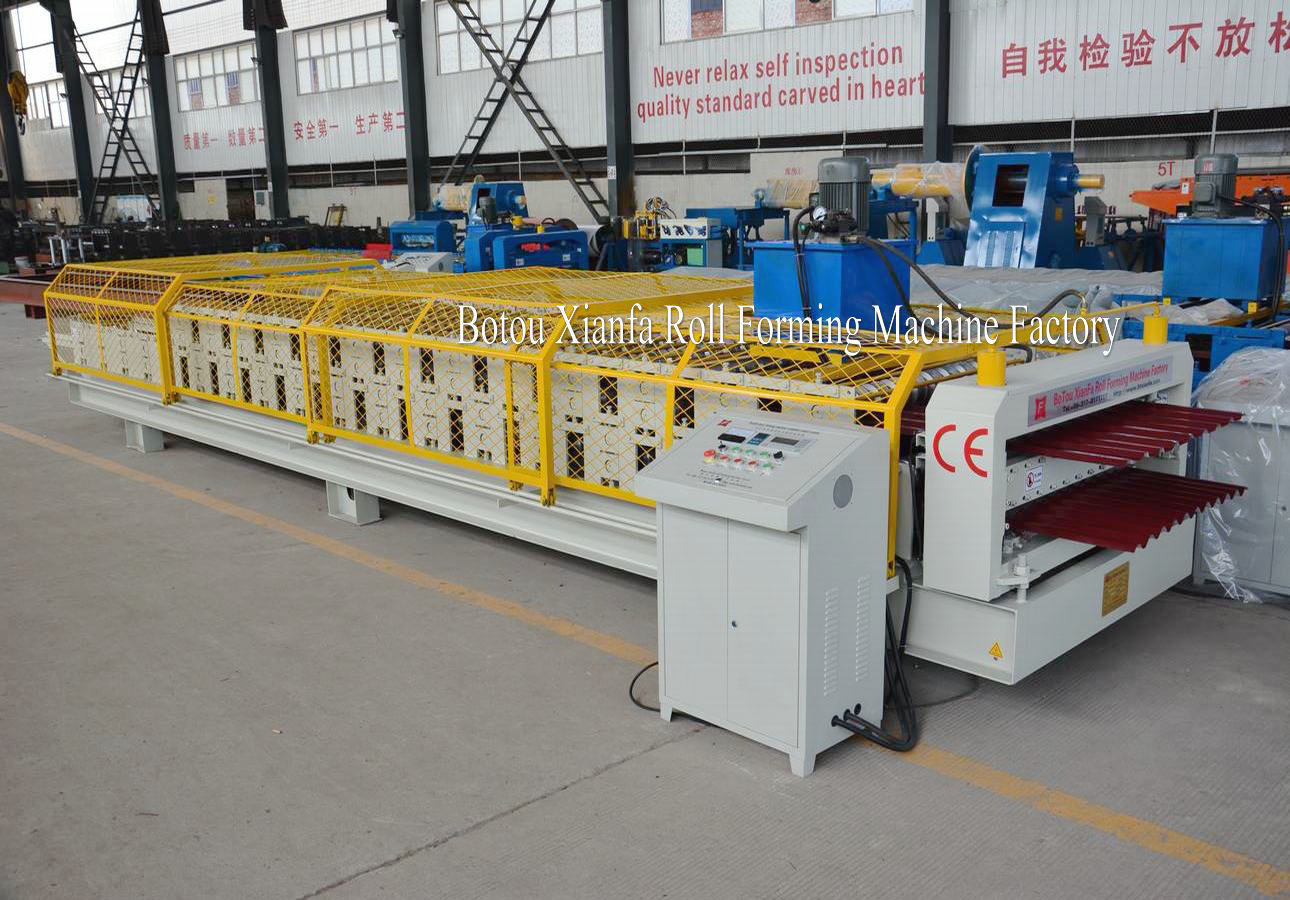 IBR Corrugated roll Forming Machine