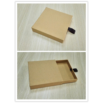 Folding drawer mascara paper box