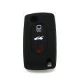 3 Button silicone key cover for modern auto