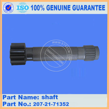 PC300-7 SHAFT 207-27-71352