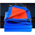 blue orange PE tarpaulin for covering