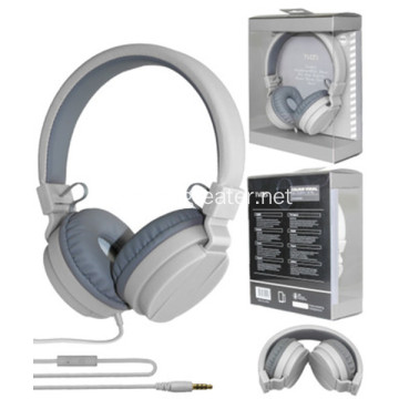 Wired headphone cheap headset foldable headphone