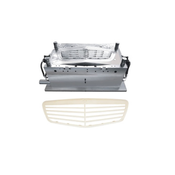 Plastic car front grille injection moulds