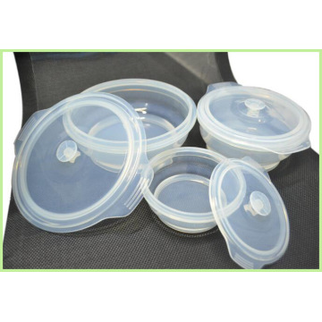 Hot Selling Silicone Folding Lunch Bowl