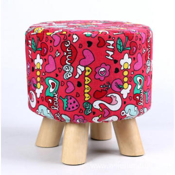 Removable wooden foot stool/low stool /sofa footrest