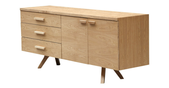 Dining room wood sideboard
