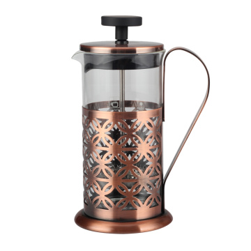 High Borosilicate Glass French Press 4 Cup