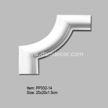 PU Chair Rail Corner Pieces
