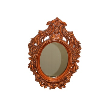 Chinese style Carved Frame Bathroom mirror