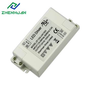 36W 24V 1500mA Constant Voltage Led Lighting Driver