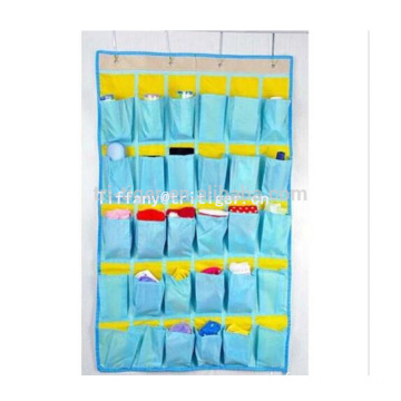 Space Saving Door Back Hanging Shoe Organizer hanging storage organizer with 30 pockets