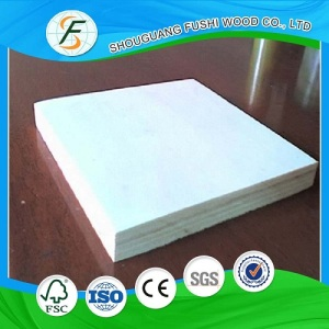 9mm Commercial Plywood Poplar Core Plain Plywood