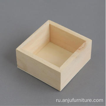 Gift Pine wood box packaging