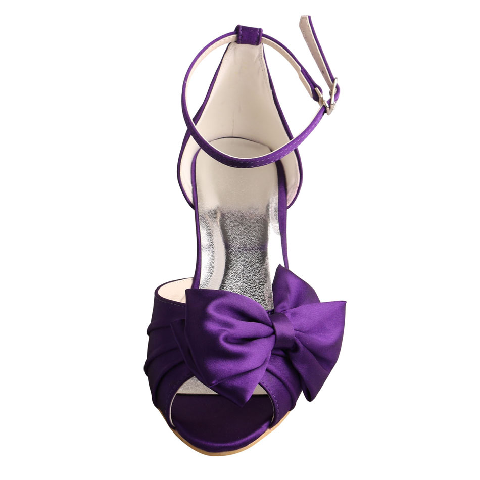 Purple Evening Sandals