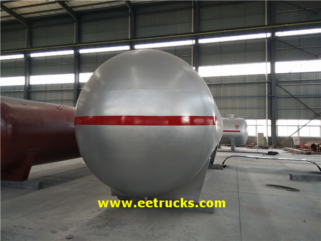 25 Ton LPG Mounded Tanks