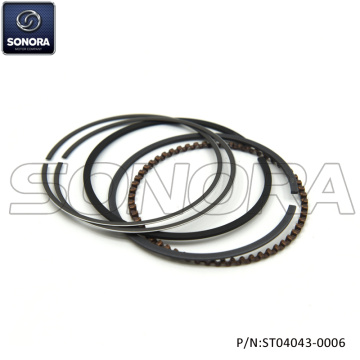 YAMAHA YBR125 PISTON RING SET (P/N:ST04043-0006) Top Quality