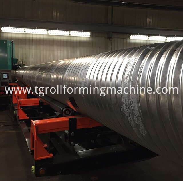 Metal Culvert Pipe Machine