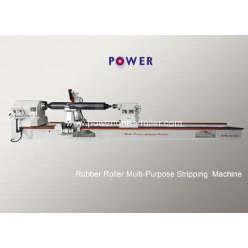 PU Rubber Roller Strip Cleaning Machine