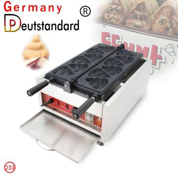 commercial waffle machine excrement shape Interesting food with CE NP-233