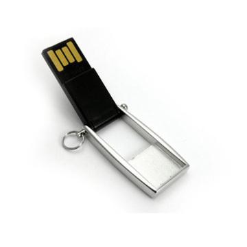 Rotating Printing Logo Imprint USB Memory Card Flash