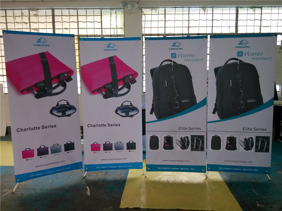 80X180 cm Aluminum X Stand Banner Printing