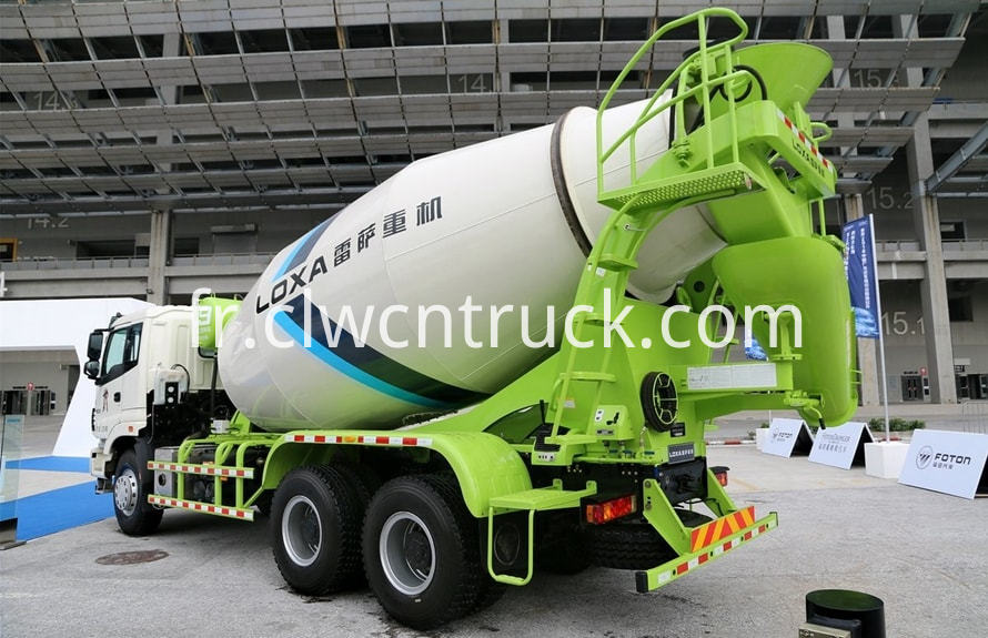 new concrete mixer truck 2